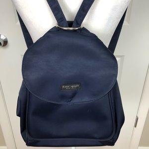Vintage Kate Spade | Navy Nylon Mini Backpack K06